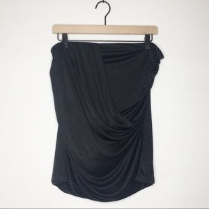 Express | Draped Strapless Top (H163)